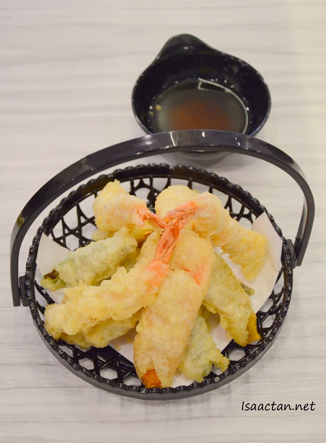 Tempura Moriawase (3pcs prawn with vege) - RM13.80