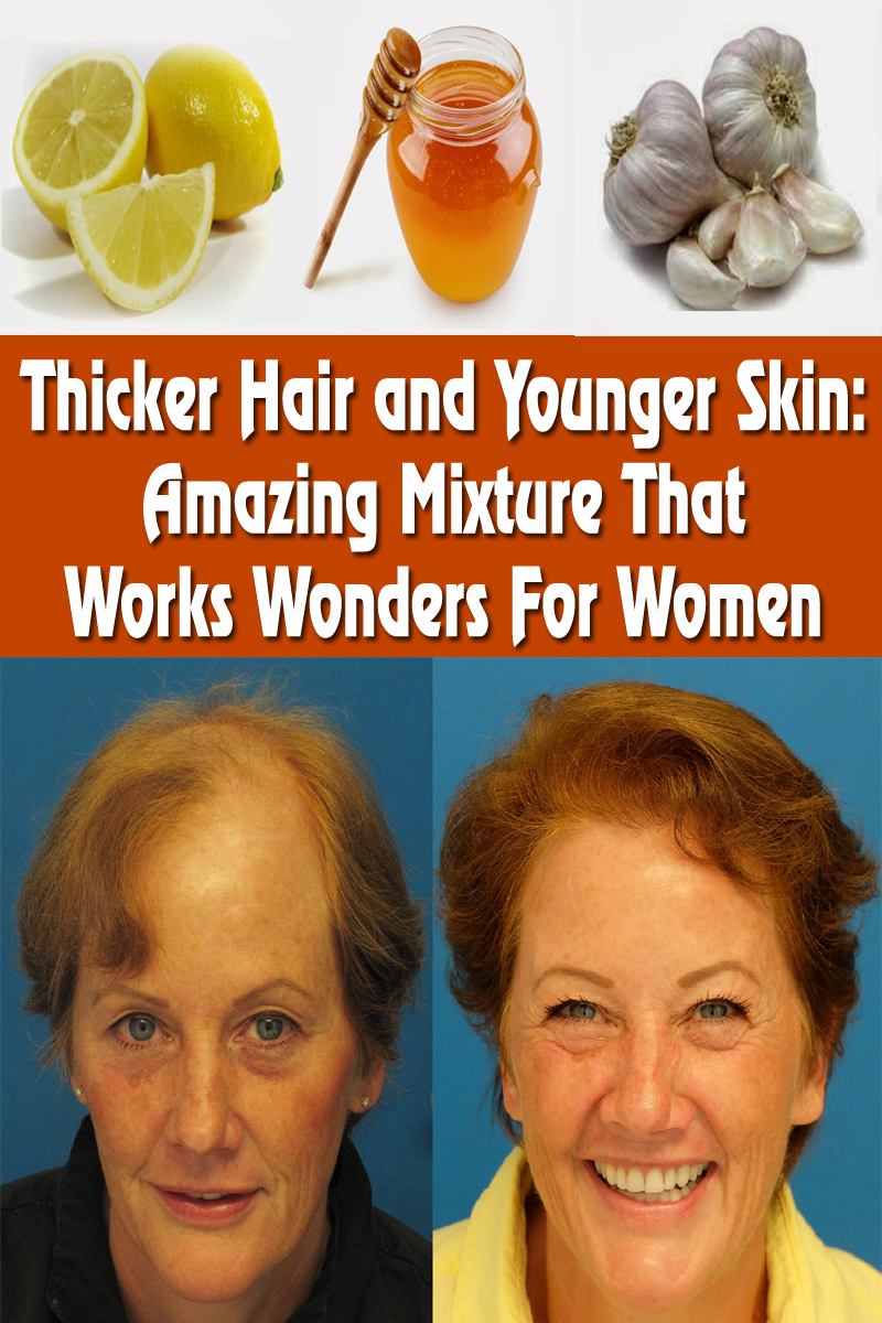 Thicker Hair and Younger Skin: Amazing Mixture That Works Wonders For Women
