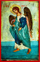 Sfantul Arhanghel Gavriil , icoana pe lemn