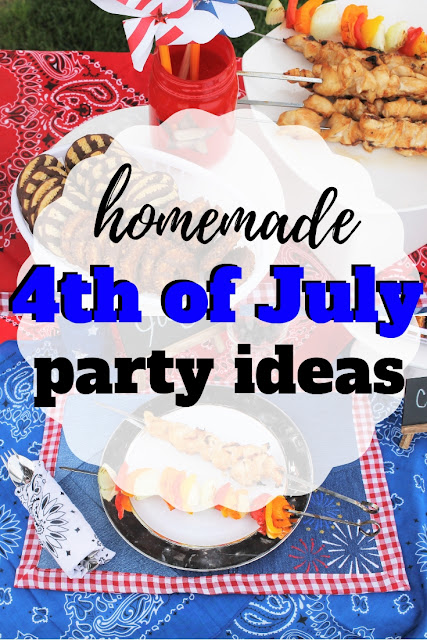 List of great homemade 4th of july decorations that you can make yourself and add a patriotic feel to your home or party.