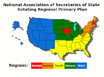 National Association of Secretaries of State Rotating Regional Primary Plan
