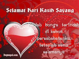 Contoh Gambar Kartu Ucapan Selamat Hari Valentine Untuk Teman Atau Sahabat