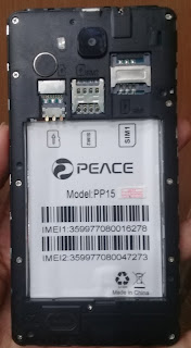 PEACE PP15 MT6572 6.0 FLASH FILE FIRMWARE STOCK ROM 100% TESTED
