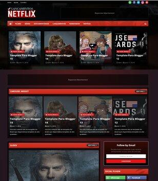 Netflix Blogger Template