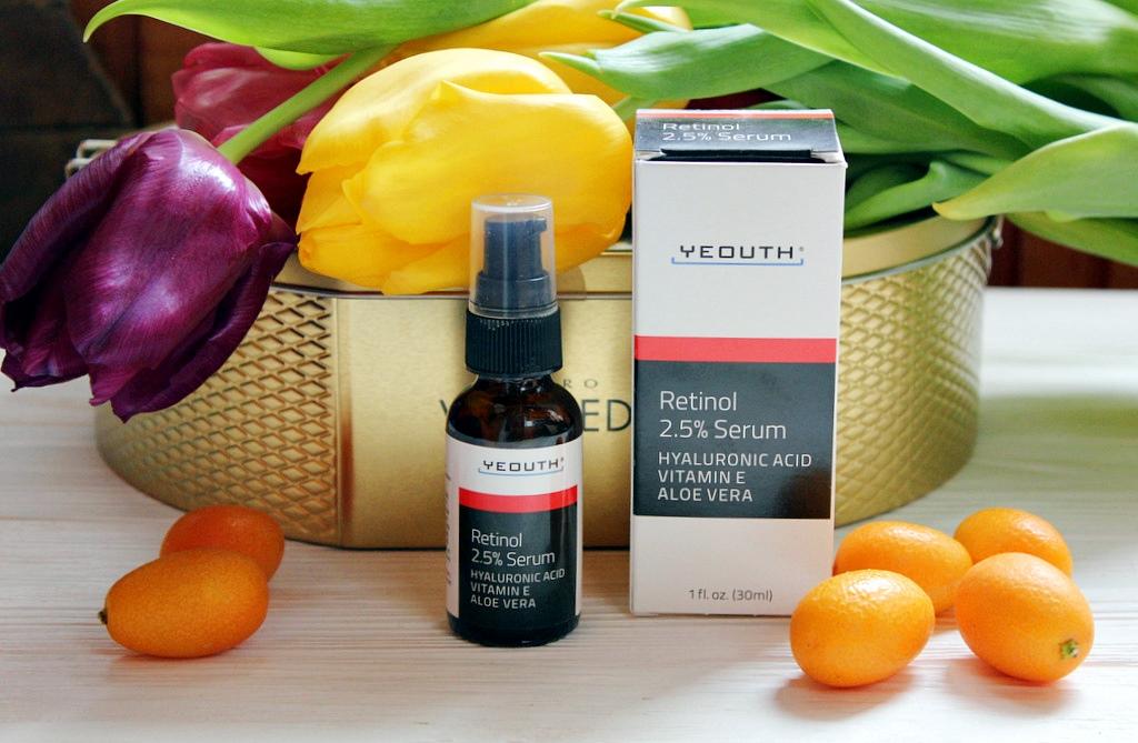 Сыворотка с ретинолом 2,5% Yeouth, Retinol Serum / обзор, отзывы