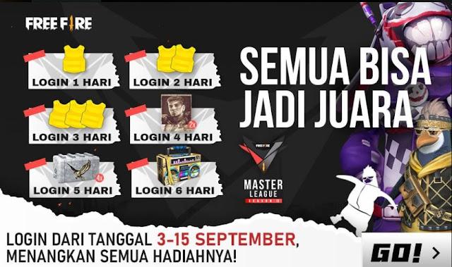 Event Login Terbaru Free Fire FFML Berhadiah Loot Box Gangster Rapper