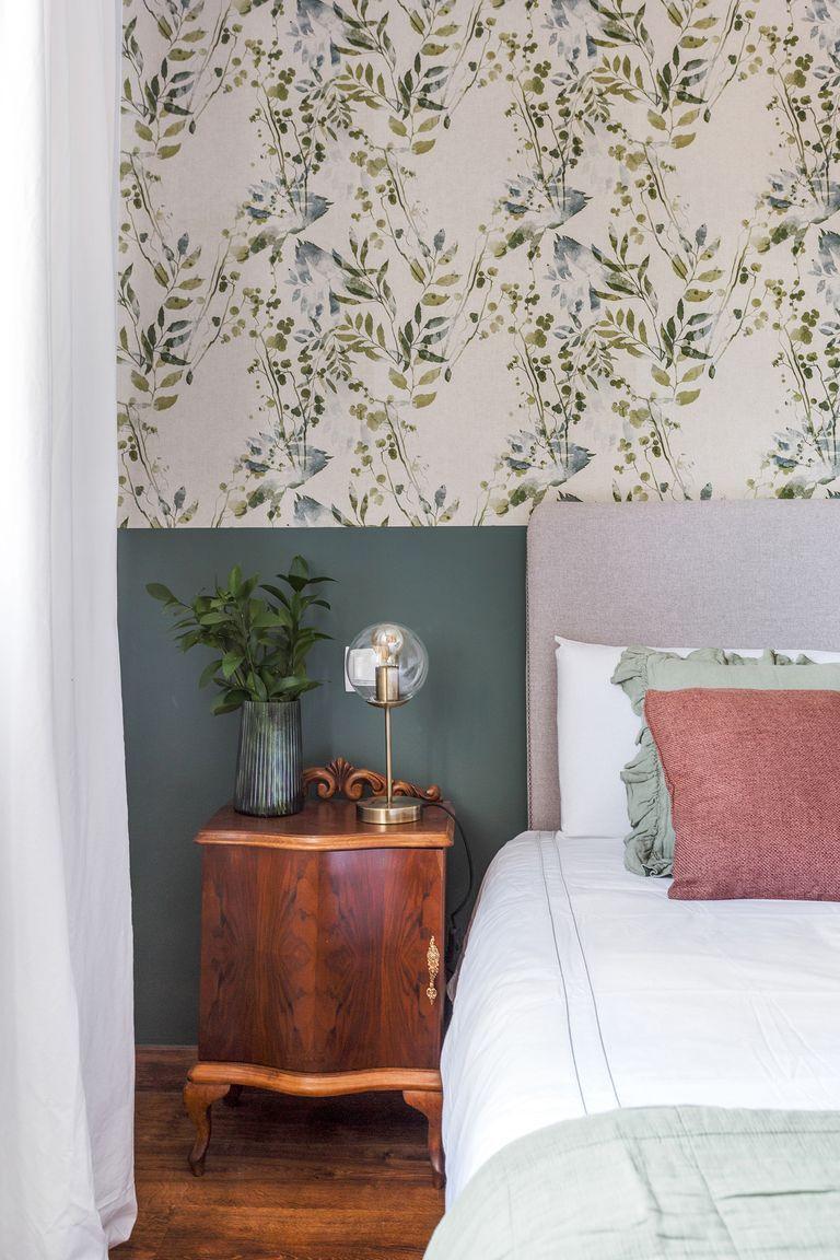 Dormitorio clásico vintage