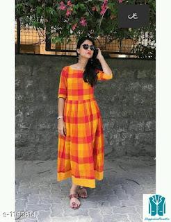 Drishya Versatile Rayon Cotton Women's Kurti