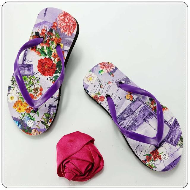 Sandal Motif-Bunga Anak || Produsen Sandal Tangerang