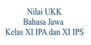 Nilai UKK Bahasa Jawa Kelas XI IPA dan IPS Berdasarkan Peringkat