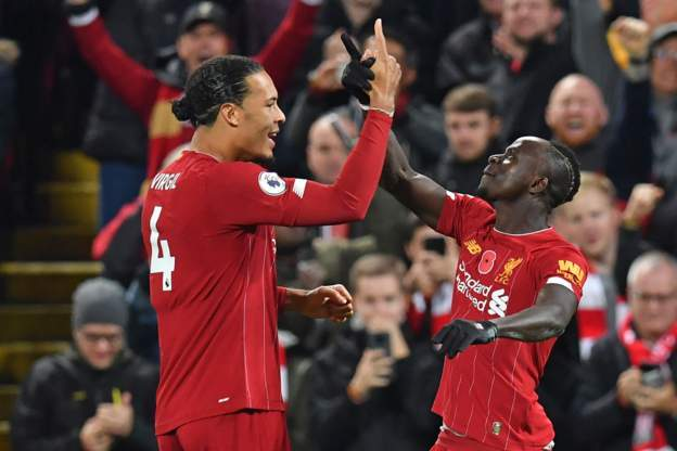 Liverpool Outclass Defending Champions Manchester City