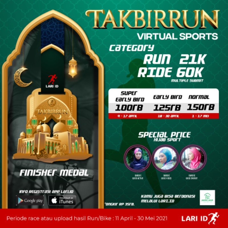 TakbirRun Virtual Sports • 2021