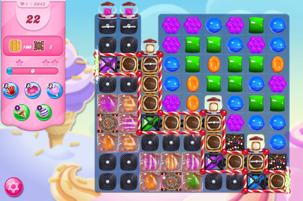 Candy Crush Saga level 6042
