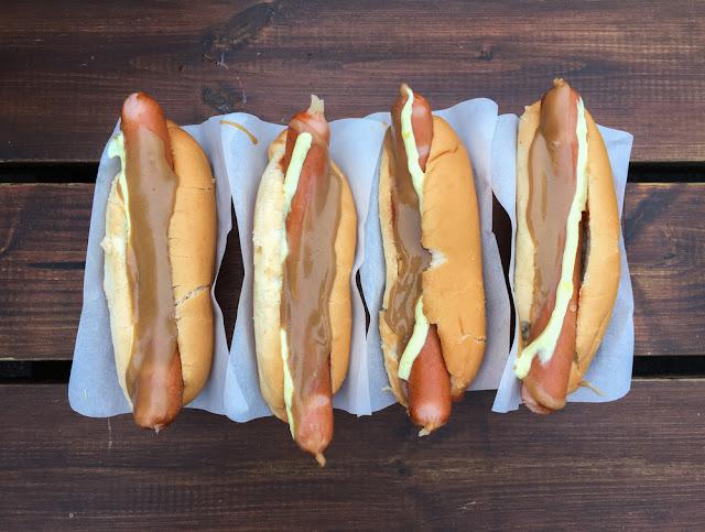 Icelandic Hot Dogs Close to Keflavik Airport