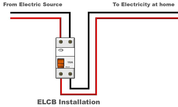 How To Install An Elcb At Home My Electrical Diary