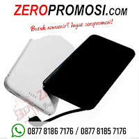 Powerbank Arden 5000 mAH P50PL26, Power Bank Slim with built in cable 5000 mAh