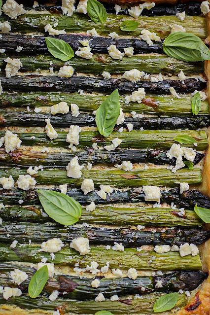 tarte asperges