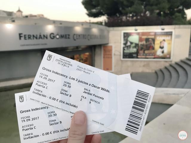Gross Indecency en Teatro Fernán Gómez