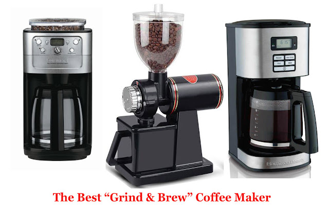 Best Grind and Brew Coffee Maker- need of every household!