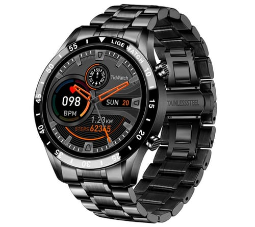LIGE Bluetooth Call Fitness Tracker Smart Watch