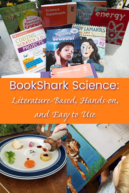 BookShark Science makes science easy for homeschool mom and engaging for kids through great books and lots of hands-on activities!