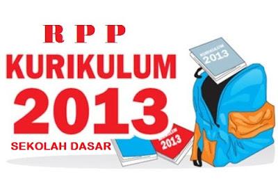 RPP SD Kelas 1, 2, 3, 4, 5, 6 Kurikulum 2013 Revisi 2016