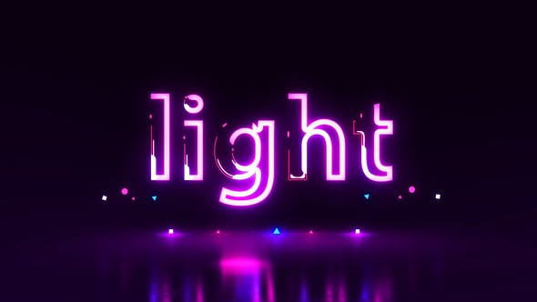 Neon Logo | Titles | After Effects Project Files | Videohive