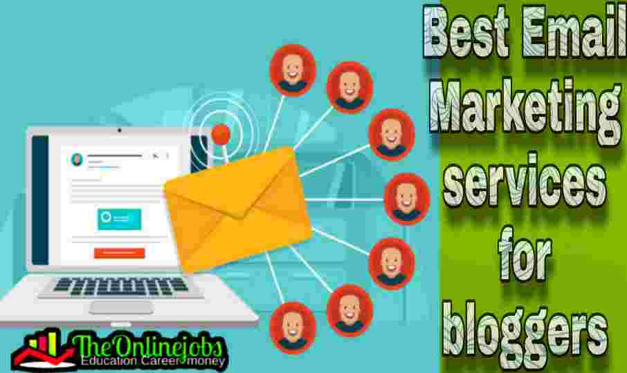 TOP 5 EMAIL MARKETING SERVICES