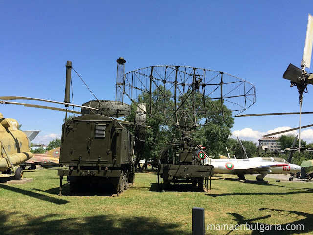 Sistema de radio-localización RSP-7 T Museo Militar Sofía