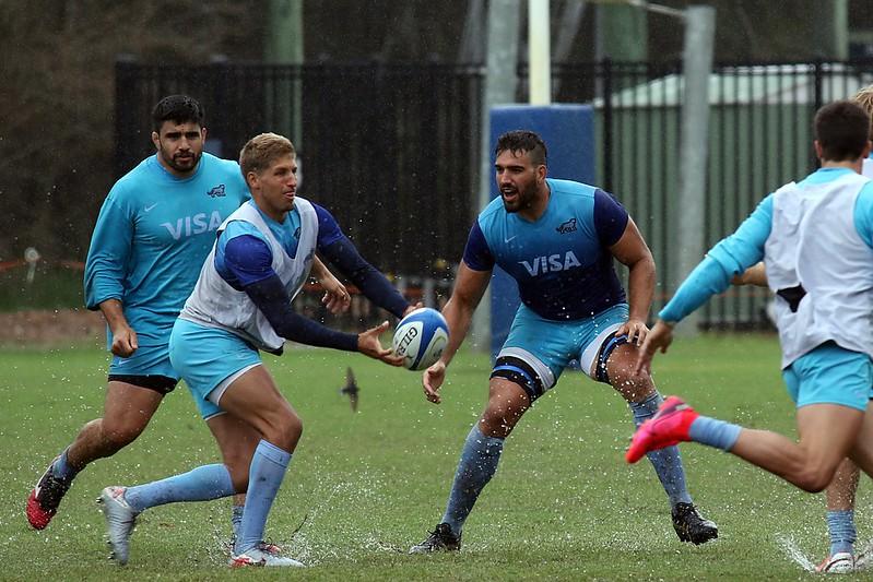 Formación de Los Pumas ante Rugby Australia Selection
