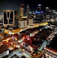 tempat wisata di singapura, pemandangan singapura, kota singapura, chinatown singapore,