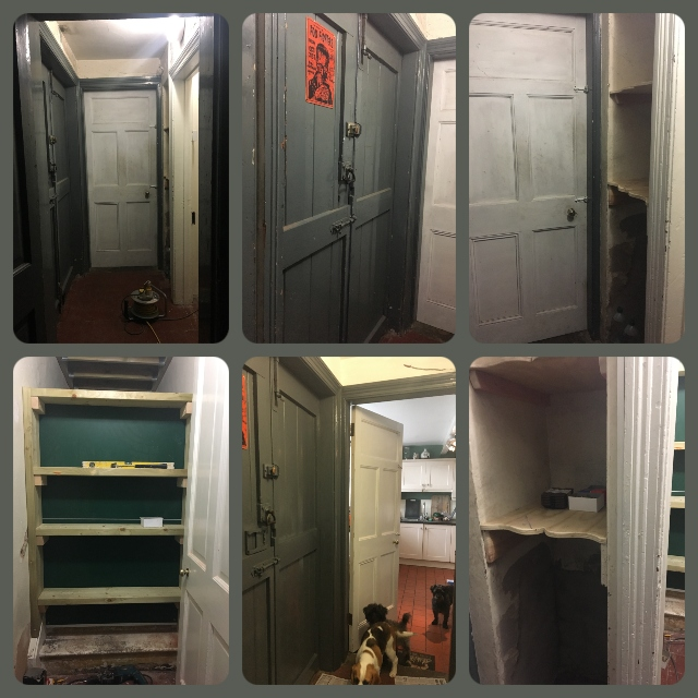 Pantry area makeover