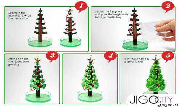 Merry Christmas : Cara Mudah Membuat Pohon Natal Mini 2016