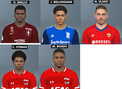 PES 2017 Mini Facepack by FR Facemaker