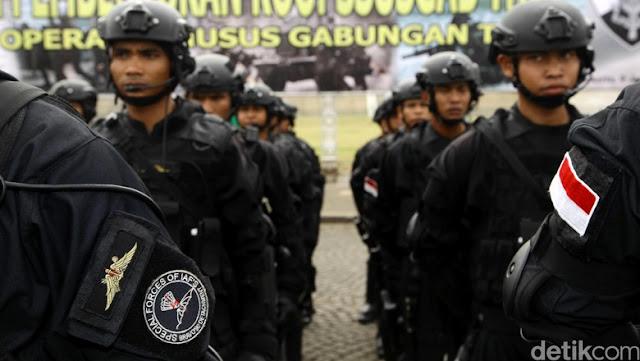 Tak Ada Ampun Untuk Teroris! Komisi I DPR Sudah Setujui Pasukan Elit TNI Gabung Di Komando Operasi Khusus Gabungan.....