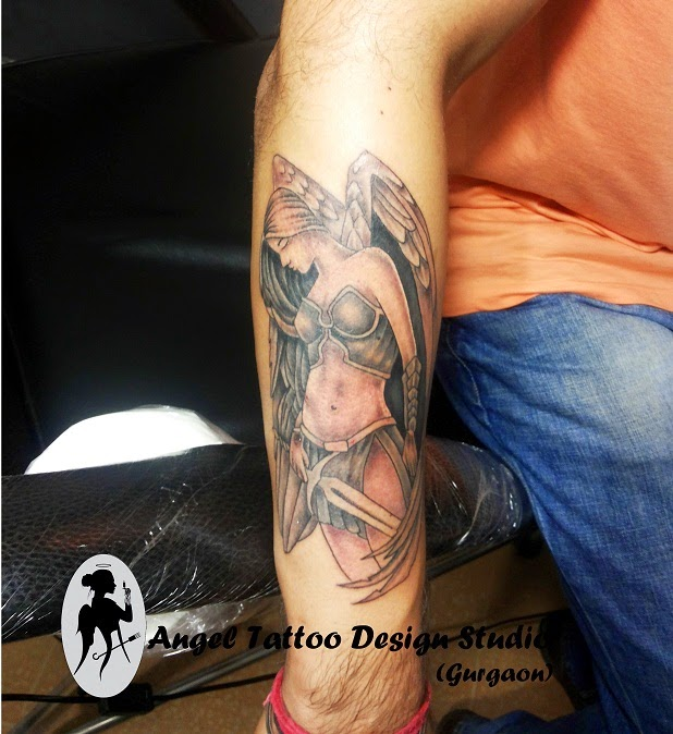 Angel Tattoo Design Studio: Permanent Tattoo Cost/ Price