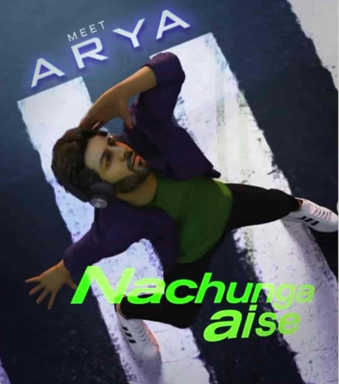 Nachunga Aise Hindi Song Image Features Kartik Aryan