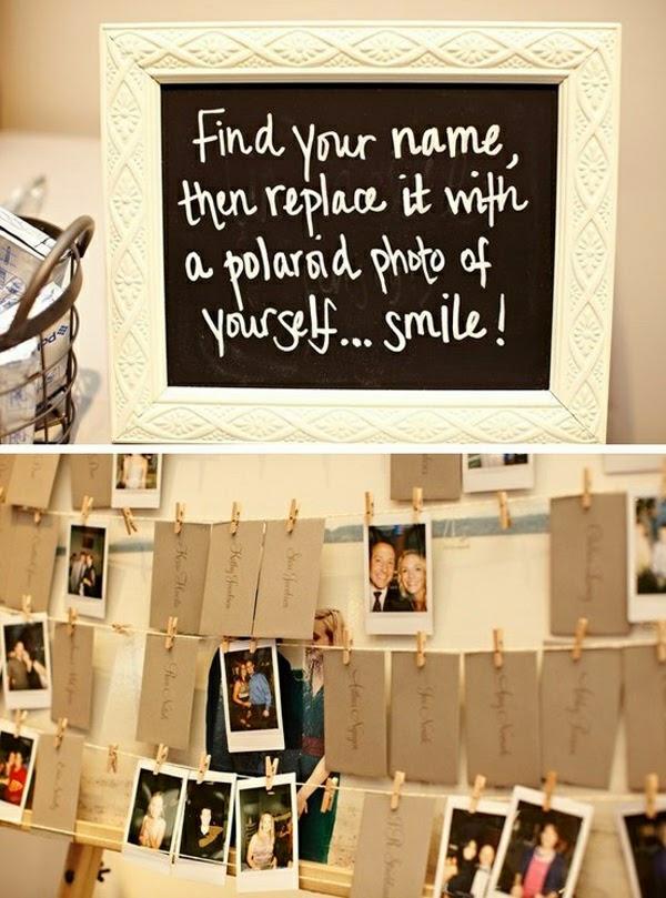 Magnifiek Polaroid cameras: Bruiloft ideeën met polaroidfoto's &MM39