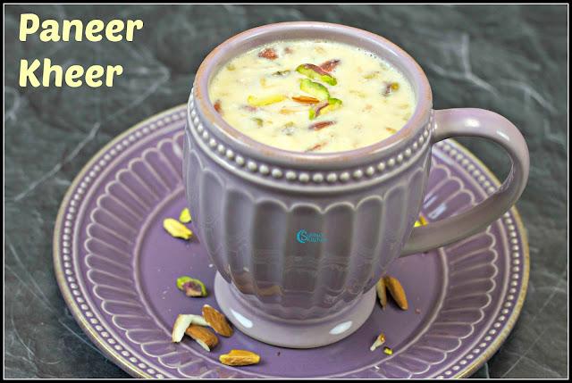 Paneer Khmer Recipe | How to make Paneer Payasam