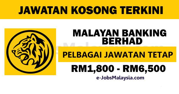 Malayan Banking Berhad MAYBANK