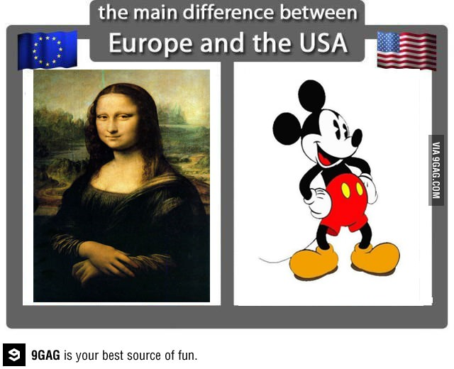 Europe vs. USA Art