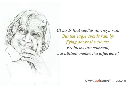 Quotations, sayings, Abdul kalam