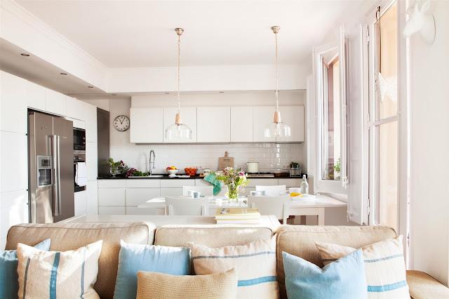 cocina abierta al salon, la cocina abierta, cocinas abiertas