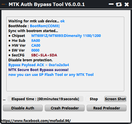 TERBARU...!!!! MTK AUTH BYPASS TOOL V6 SUPPORT DEVICE NEW