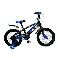 Sepeda Anak Atlantis Putra BMX 16 Inci x 3.0 Inci Rangka Steel Bentuk Kotak 4-7 Tahun Kids Fatbike