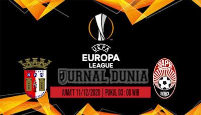 Prediksi Braga vs Zorya ,Jumat 11 Desember 2020 Pukul 03.00 WIB