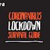 Coronavirus Lockdown Survival Guide #infographic