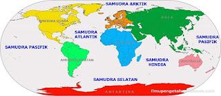 Nama 5 Samudra di Dunia dan keterangan