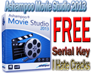 Ashampoo Movie Studio 2013 Free Download With Free But Legal Serial Key