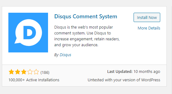 WordPress : Install Disqus comments in 5 minutes